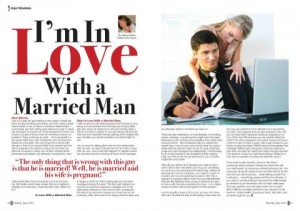 Married and in love with a married man  What do you do if